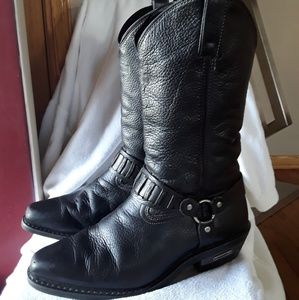 Harley-Davidson leather boots😀😀😀